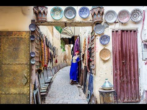 City & Medina of Fez, Morocco.