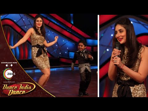 Kareena Kapoor Khan's JAW DROPPING Dance Performance At DID Dance Ke Superkids