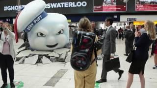 Ghostbusters Waterloo Stay Puft Marshmallow Man Display (HD)