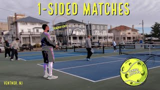 One Sided Pickleball Matches, ft. Golden Pickle
