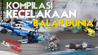 Download lagu KOMPILASI KECELAKAAN BALAP DUNIA MOTORSPORT CRASH COMPILATION SPESIAL 3K SUBS MP3