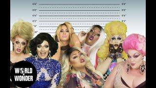 DRAG QUEENS REACT: Celebrity Mugshots w/ Eureka, Jiggly, Jaidynn, Laila, MKD, Naysha & Tempest
