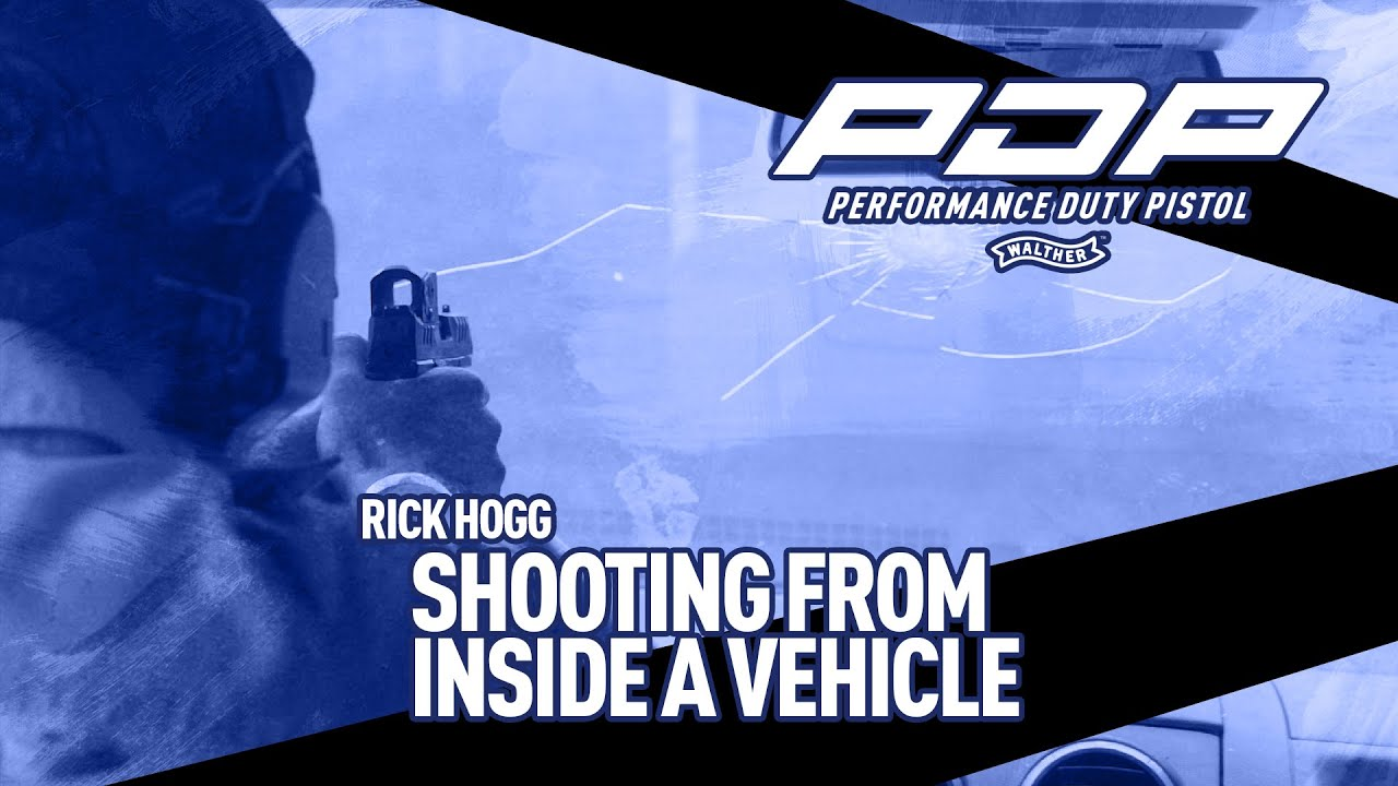 Shooting From Inside A Vehicle Through A Windshield, A Vehicle Counter Ambush Technique