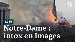 Notre-Dame de Paris : deux images intrigantes pendant l'incendie