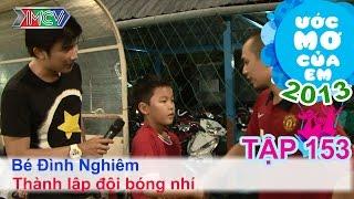 Thu âm bài hát - Phạm Nguyễn Thị Hồng Gấm | ƯỚC MƠ CỦA EM | Tập 153