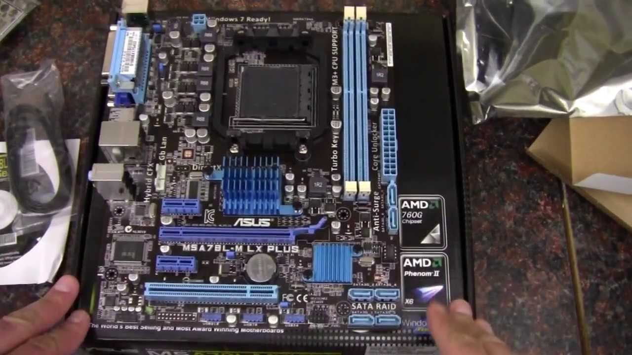 maxresdefault asus m5a78lm lx plus amd motherboard youtube  at cos-gaming.co