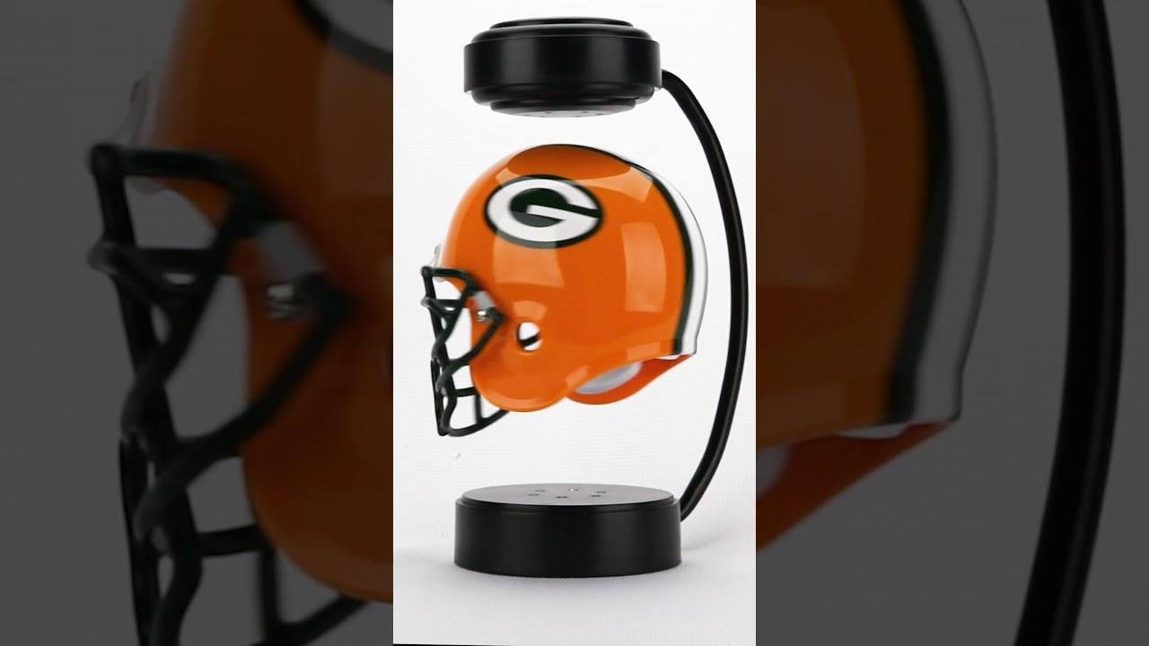 cdb9d22eb46 Greenbay Packers Levitating Helmet - YouTube