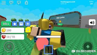 PLAYING WEAPON SIMULATOR IN ROBLOX