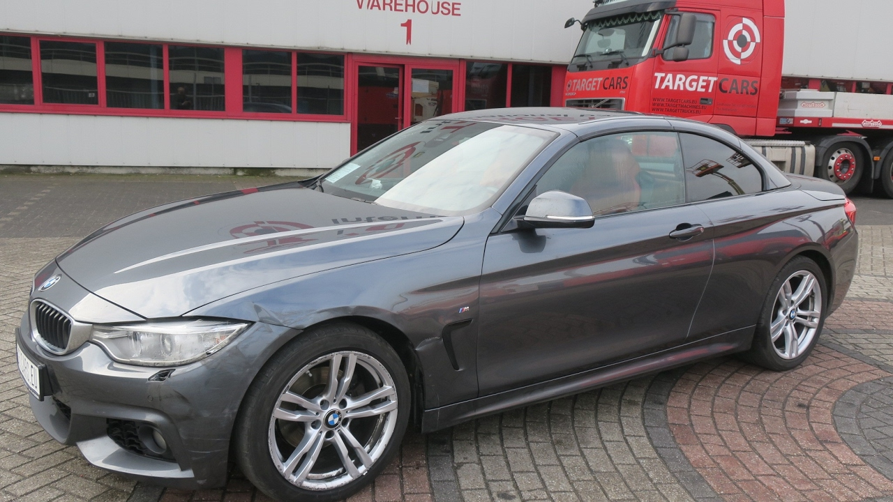 740822 bmw 420d f33 cabrio aut 2 0l 184hp m sport package grey 06 14 109826km lhd youtube. Black Bedroom Furniture Sets. Home Design Ideas