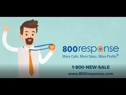 How to get more leads and increase sales by using Vanity 800 Phone Numbers- Visit 800response.com