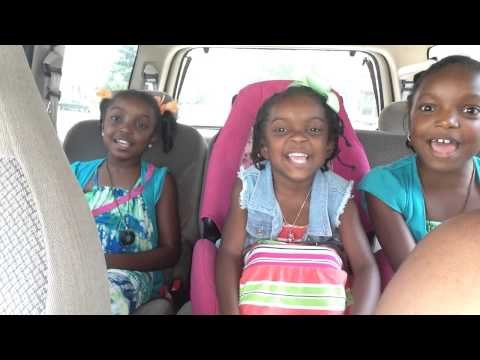 Russell girls singing When Jesus Says Yes by Michelle Williams