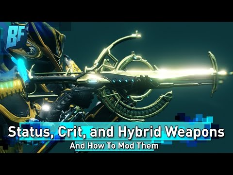 Warframe: The General Formula for How to Mod Primary Weapons