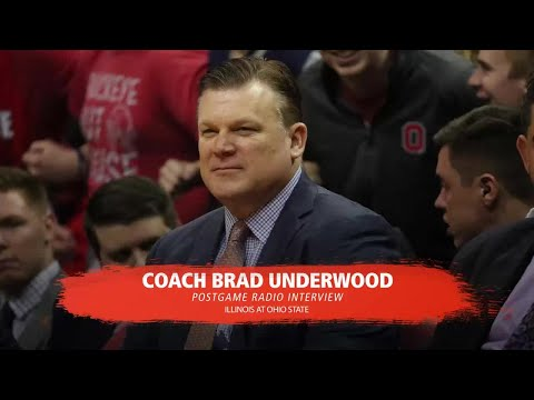 Brad Underwood Postgame Radio Interview at #17 Ohio State 2/4/18