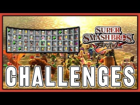 Super Smash Bros. Brawl - Challenges