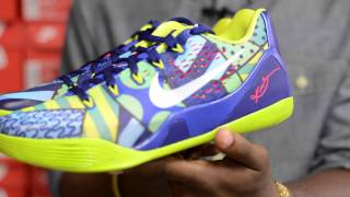 nike Kobe 9 IX EM Brazil Review and On Feet Review HD #CGKicks