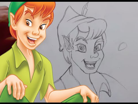 Pan Drawing How to Draw Peter Pan From