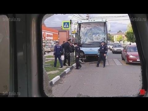 В Туле автобус протаранил маршрутку