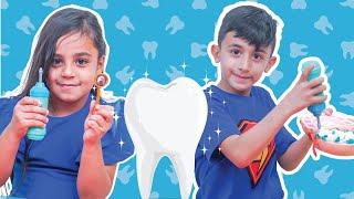 سوبر سمعة وريتال - لعبة الاسنان
