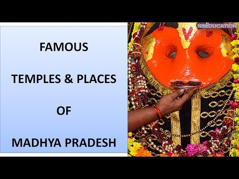 P-1 Famous Temples and Tourist places of Madhya Pradesh (frequently asked in exam)