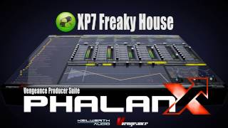 Vengeance Producer Suite - Phalanx XP7: Freaky House Demo