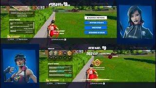 Fortnite ecran  partage 4