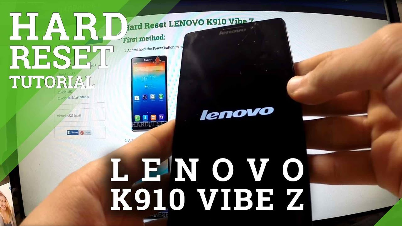 Hard Reset LENOVO K920 Vibe Z2 Pro - HardReset info
