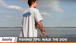How to Fish: Walking the Dog