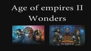 Age of Empires 2  Civilizations Wonders (updated 2017)