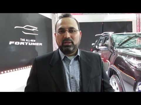 SAUD ABBASI, MD of Toyota at Al-Futtaim Motors speaks to WILLIAM FARIA