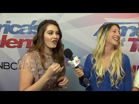 Mandy Harvey Talks w/ Talent Recap About The Time She Heard Howie's Voice! | America's Got Talent