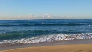 Утром на пляж нужно идти пораньше...