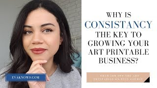 Etsy For Beginners: Why Consistency Is So IMPORTANT in Building Your Etsy Shop!