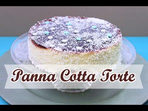 Weihnachtliche Panna Cotta Torte Panna Cotta Rezept Ohne Gelatine