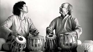 Ek Taal Solo Duet - Allah Rakha Khan & Zakir Hussain