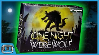 Can YOU Spot The Werewolf?! | One Night Ultimate Werewolf | Nerdica Live Highlights