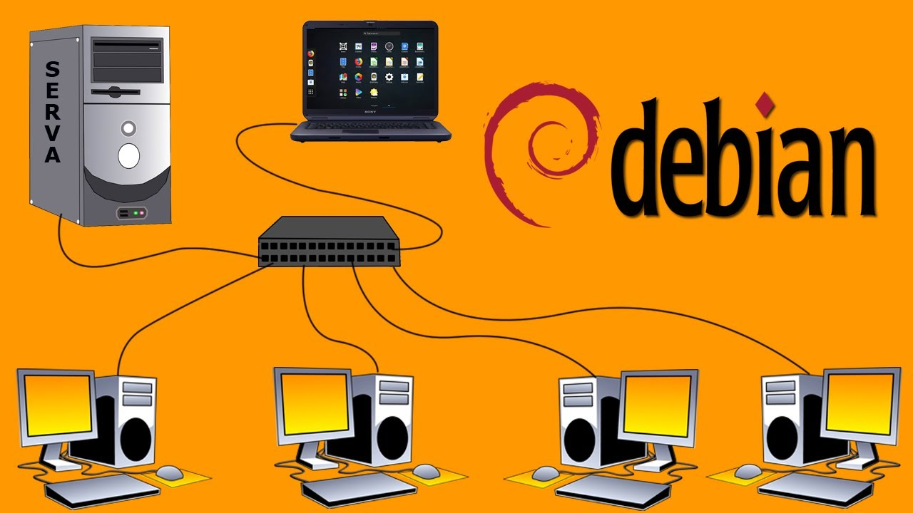 How to Install Debian Via PXE LAN (Serva)