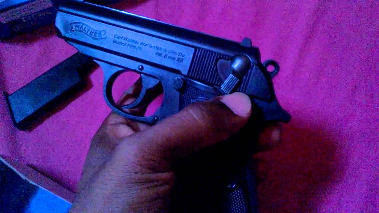 Pistola De Airsoft Spring PPK/S Walther