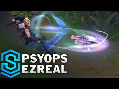 PsyOps Ezreal Skin Spotlight - League of Legends