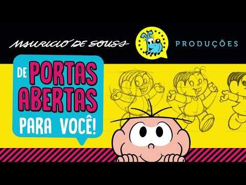 Visita à Mauricio de Sousa Produções!