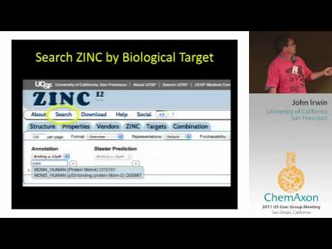 ZINC: Chemistry for Biology - John Irwin (UCSF)