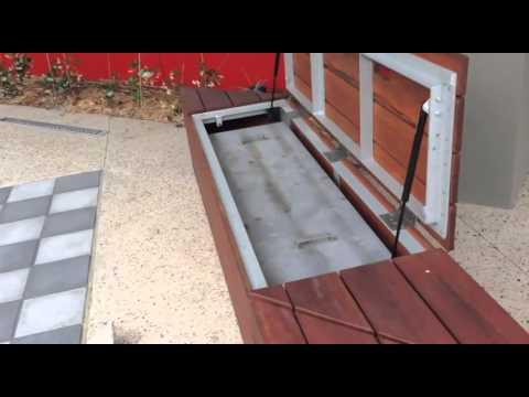 Air Spring Assisted Trap Door Doovi