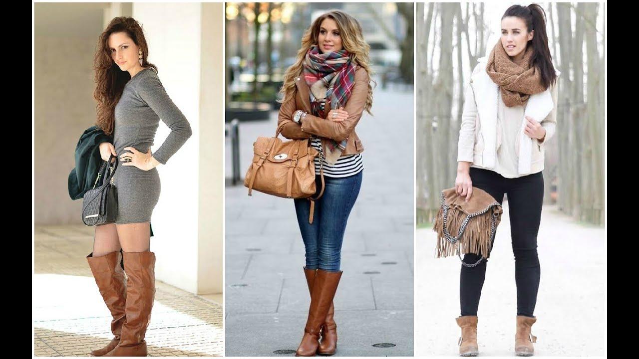 Vestidos de invierno para usar con botas