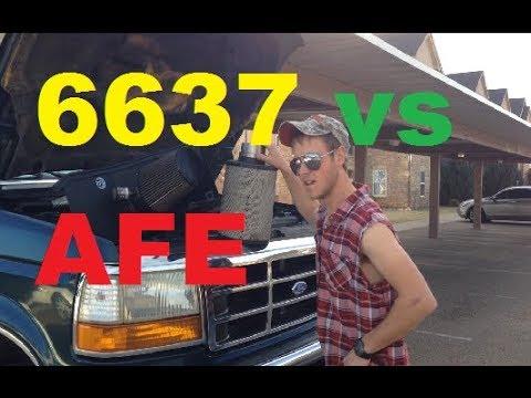 afe vs napa 6637 air filters -