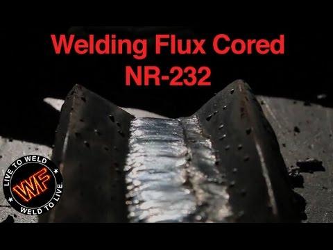 Welding Flux Cored NR 232