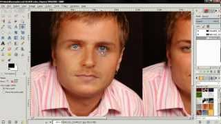 Face Replace (Match Skin Color) - GIMP 2.8 Tutorial