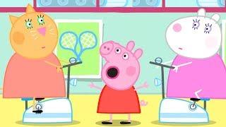 Peppa Pig Português Brasil | JOGOS DE JARDIM ⚾️ Hábitos Saudáveis | HD | Desenhos Animados