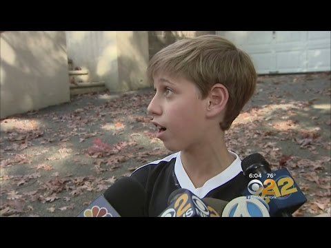 11-Year-Old Boy Interrupts Burglary