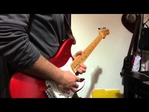 Shine On You Crazy Diamond - Red Strat EMG DG20