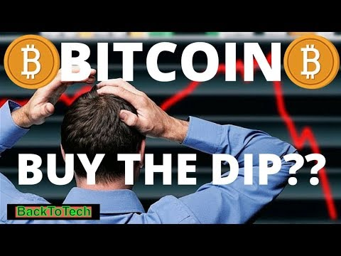 Day Trading Bitcoin -How To Day Trade Cryptocurrency 101 - Buying the Dip