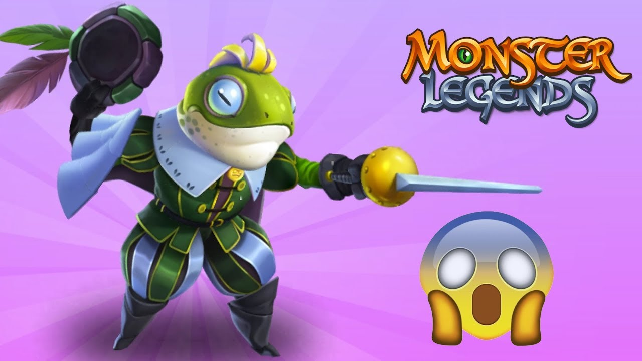 ✅LEGEND $$ ẾCH MUỐN LÀM HOÀNG TỬ – Monster Legends Game Mobiles – Android, Ios
